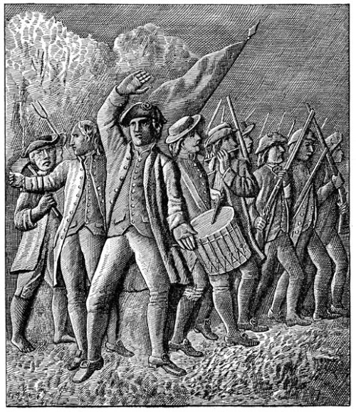 Revolutionary War Soldiers: Rally of the People